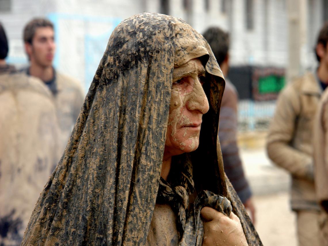 سوگواره چهارم-عکس 94-محسن مرادی-آیین های عزاداری