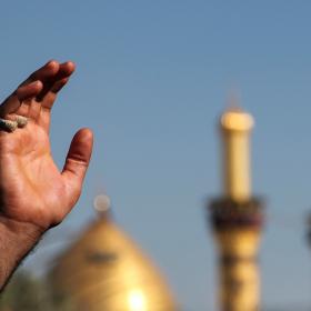 سوگواره پنجم-عکس 113-امیر قیومی-پیاده روی اربعین از نجف تا کربلا