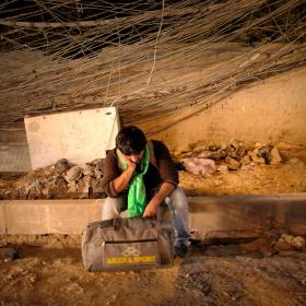 سوگواره سوم-عکس 67-حسین استوار -پیاده روی اربعین از نجف تا کربلا