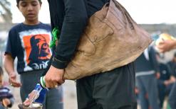 سوگواره چهارم-عکس 1-سید محمد جواد صدری-پیاده روی اربعین از نجف تا کربلا