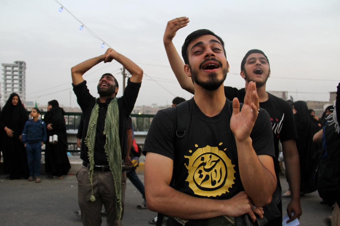 سوگواره پنجم-عکس 12-مسعود ماکاوند-پیاده روی اربعین از نجف تا کربلا