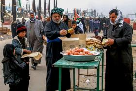 سوگواره پنجم-عکس 37-مجید حجتی-پیاده روی اربعین از نجف تا کربلا