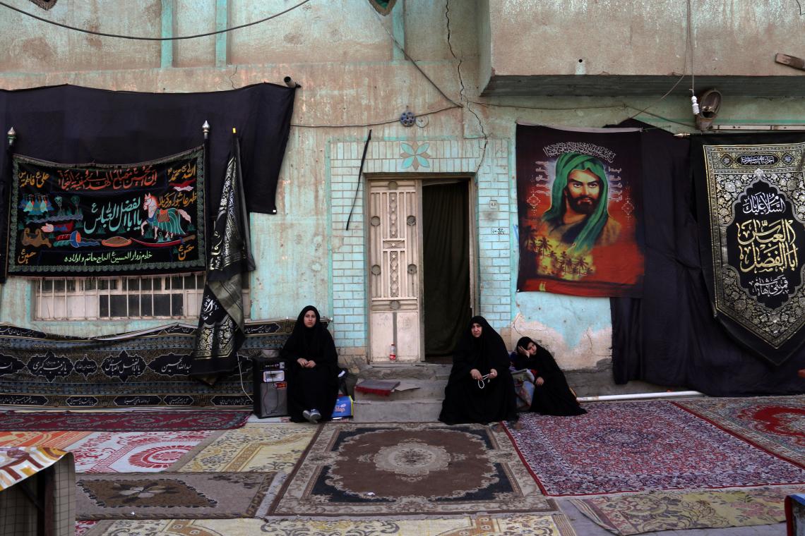 سوگواره پنجم-عکس 112-رسول مختاری-پیاده روی اربعین از نجف تا کربلا
