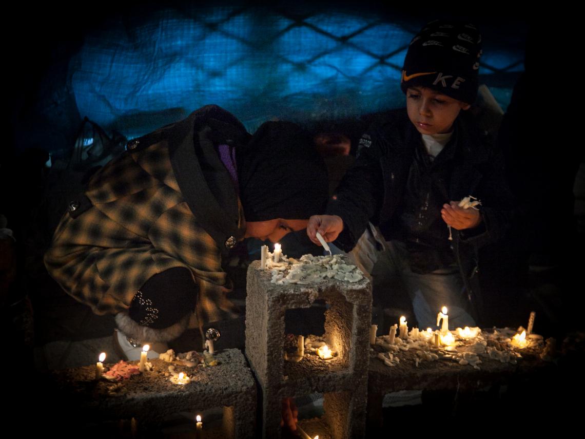سوگواره دوم-عکس 2-محمد صالح شریفی-جلسه هیأت فضای بیرونی