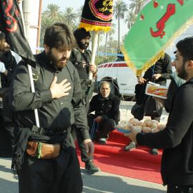 سوگواره چهارم-عکس 22-عمار ابوالفتحی-پیاده روی اربعین از نجف تا کربلا