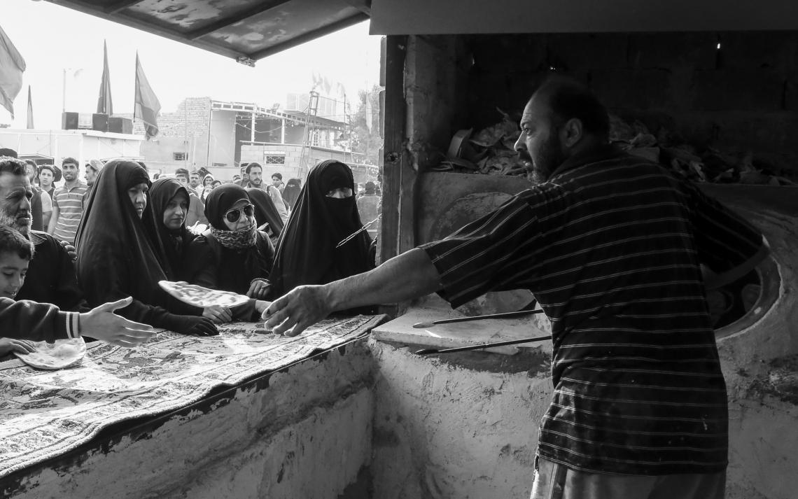 سوگواره پنجم-عکس 17-روح ا...  مهاجر-پیاده روی اربعین از نجف تا کربلا