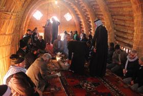 سوگواره دوم-عکس 1-امید عباسی-پیاده روی اربعین از نجف تا کربلا