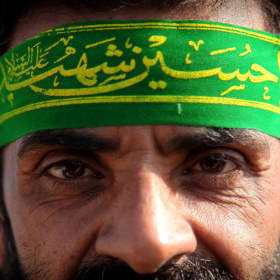 سوگواره سوم-عکس 58-حسین استوار -پیاده روی اربعین از نجف تا کربلا