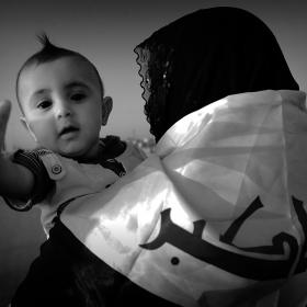 سوگواره سوم-عکس 83-حسین استوار -پیاده روی اربعین از نجف تا کربلا