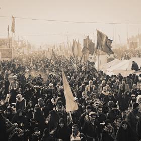 سوگواره سوم-عکس 40-محمد شاه علی-پیاده روی اربعین از نجف تا کربلا