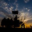 سوگواره پنجم-عکس 5-عباس مشهدی آقایی-پیاده روی اربعین از نجف تا کربلا