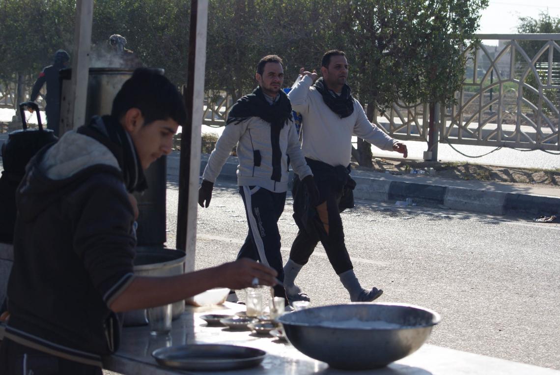 سوگواره دوم-عکس 44-محسن مرادی-پیاده روی اربعین از نجف تا کربلا