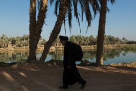 سوگواره پنجم-عکس 65-مرتضی امین الرعایایی-پیاده روی اربعین از نجف تا کربلا