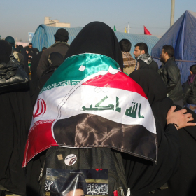 سوگواره دوم-عکس 10-علی محمودی راد-پیاده روی اربعین از نجف تا کربلا