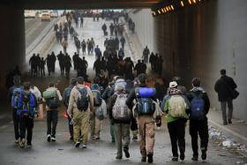 سوگواره سوم-عکس 37-محمد حسن صلواتی-پیاده روی اربعین از نجف تا کربلا