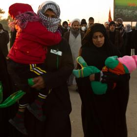 سوگواره سوم-عکس 11-محمد حسین ابراهیمی ورکیانی-پیاده روی اربعین از نجف تا کربلا