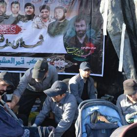 سوگواره پنجم-عکس 20-احسان ارباب پوری-پیاده روی اربعین از نجف تا کربلا