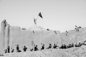 سوگواره پنجم-عکس 7-هاجر مومنی-جلسه هیأت
