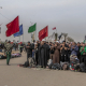 سوگواره پنجم-عکس 2-عباس مشهدی آقایی-پیاده روی اربعین از نجف تا کربلا