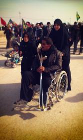 سوگواره دوم-عکس 8-رضا جودی-پیاده روی اربعین از نجف تا کربلا