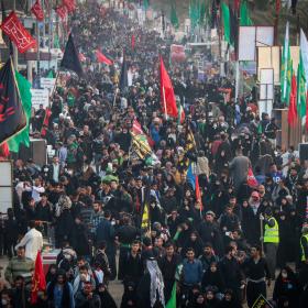 سوگواره چهارم-عکس 39-محمد رضا میثمی-پیاده روی اربعین از نجف تا کربلا