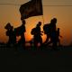 سوگواره چهارم-عکس 21-فائزه  بختیاری-پیاده روی اربعین از نجف تا کربلا