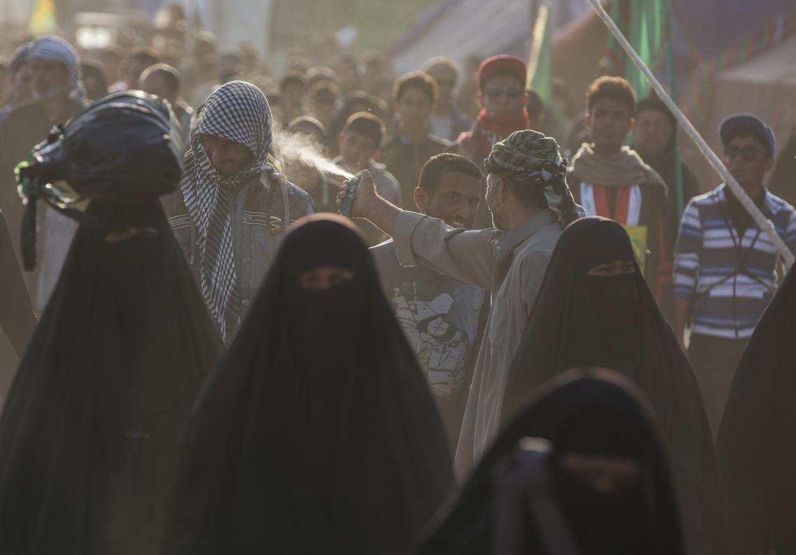 سوگواره پنجم-عکس 12-حسین حاجیلری-پیاده روی اربعین از نجف تا کربلا