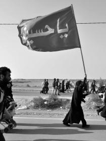 سوگواره سوم-عکس 13-سید مصطفی عطاری-پیاده روی اربعین از نجف تا کربلا