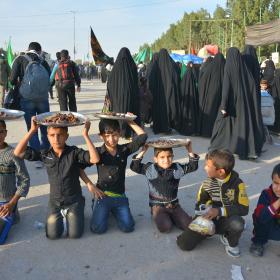 سوگواره چهارم-عکس 55-مهرداد  حسنی-پیاده روی اربعین از نجف تا کربلا