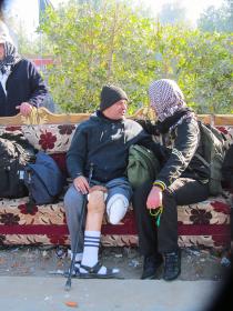سوگواره سوم-عکس 40-احمد قارداش پور طرقی-پیاده روی اربعین از نجف تا کربلا