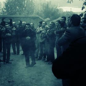 سوگواره سوم-عکس 3-علی صالحی زیارانی-جلسه هیأت فضای داخلی