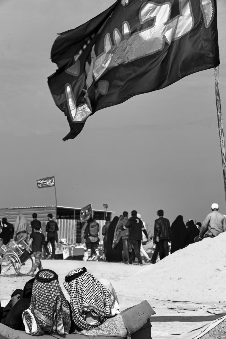 سوگواره چهارم-عکس 4-فرج الله رمضانی-پیاده روی اربعین از نجف تا کربلا