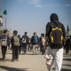 سوگواره چهارم-عکس 1-علی ابک-پیاده روی اربعین از نجف تا کربلا