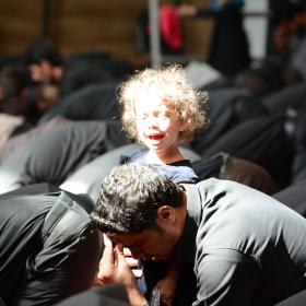سوگواره پنجم-عکس 25-امیر مسعود اتحادی-جلسه هیأت فضای بیرونی