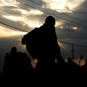 سوگواره سوم-عکس 6-حمید اسماعیل زاده-پیاده روی اربعین از نجف تا کربلا