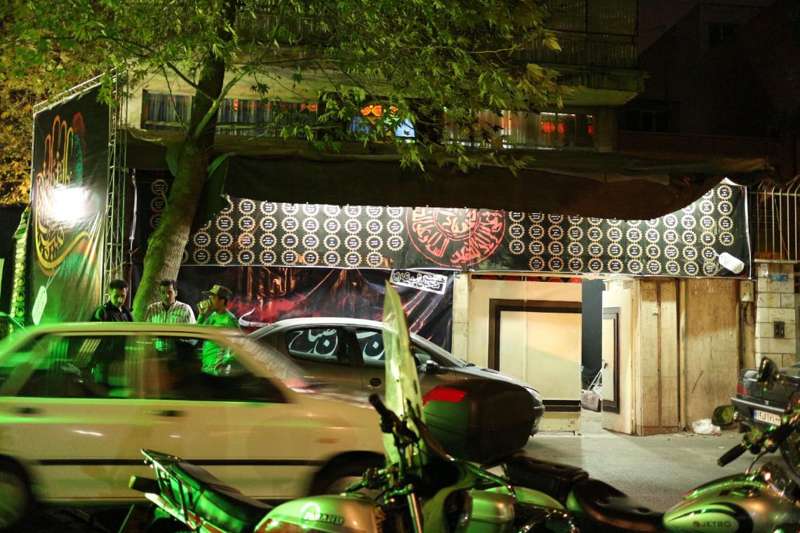 سوگواره چهارم-عکس 1-محمد فراهانی-جلسه هیأت فضای بیرونی