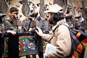سوگواره دوم-عکس 17-رضا نجفلو-پیاده روی اربعین از نجف تا کربلا