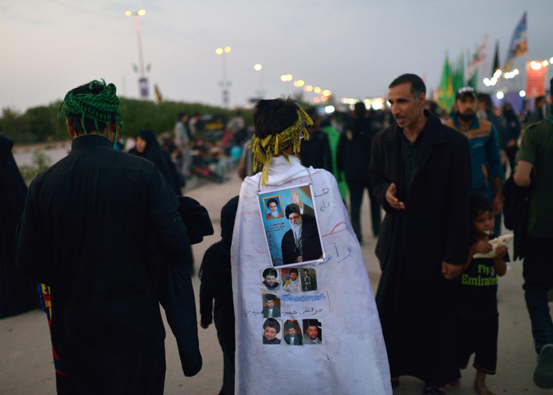 سوگواره چهارم-عکس 86-سید محمد جواد صدری-پیاده روی اربعین از نجف تا کربلا