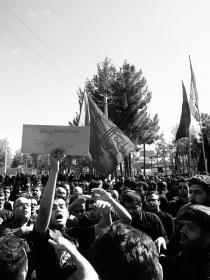 سوگواره چهارم-عکس 9-محمدرضا  خسروی چاهک -آیین های عزاداری