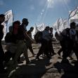 سوگواره چهارم-عکس 1-حامد ایلخان-پیاده روی اربعین از نجف تا کربلا