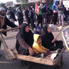 سوگواره سوم-عکس 16-محمد وحيدي-پیاده روی اربعین از نجف تا کربلا