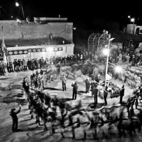 سوگواره دوم-عکس 13-امیر حسین علیداقی-جلسه هیأت فضای بیرونی