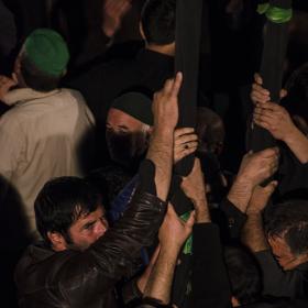 سوگواره چهارم-عکس 7-حسین رحیمی-آیین های عزاداری