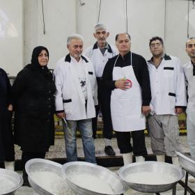 سوگواره سوم-عکس 9-سمانه شیرازی-جلسه هیأت یادبود
