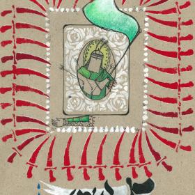 سوگواره پنجم-پوستر 1-تیلا اصغرزاده منصوری-پوستر عاشورایی