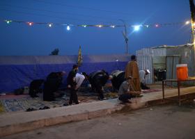 سوگواره چهارم-عکس 87-سید محمد جواد صدری-پیاده روی اربعین از نجف تا کربلا