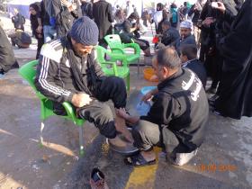 سوگواره سوم-عکس 24-علی مقنی-پیاده روی اربعین از نجف تا کربلا