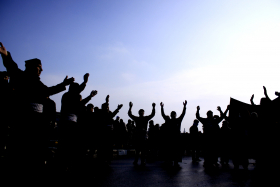 سوگواره سوم-عکس 20-محمد حسن صلواتی-جلسه هیأت فضای بیرونی