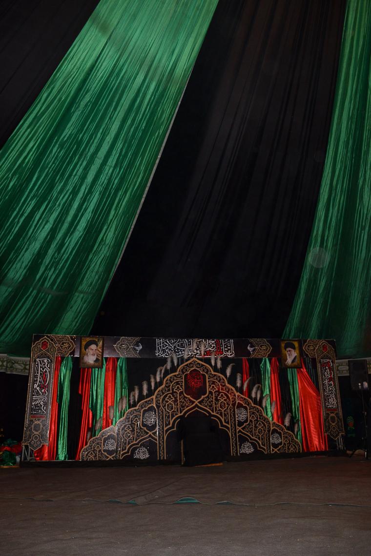 سوگواره پنجم-عکس 33-سید علیرضا رجایی شوشتری-جلسه هیأت