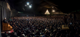 سوگواره پنجم-عکس 37-محمد حسين دهقاني-جلسه هیأت فضای بیرونی
